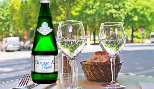 DRINKING USE OF BOHEMIA QUELLE MINERAL WATER FOR REGENERATION OF ORGANISM